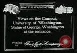 Image of University of Washington Seattle Washington USA, 1917, second 11 stock footage video 65675048836