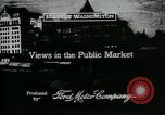 Image of Pike Place public market Seattle Washington USA, 1917, second 5 stock footage video 65675048838