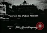 Image of Pike Place public market Seattle Washington USA, 1917, second 6 stock footage video 65675048838