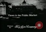 Image of Pike Place public market Seattle Washington USA, 1917, second 7 stock footage video 65675048838