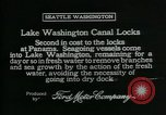 Image of Canal locks Seattle Washington USA, 1917, second 6 stock footage video 65675048842