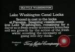Image of Canal locks Seattle Washington USA, 1917, second 9 stock footage video 65675048842