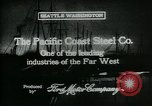 Image of Pacific Coast Steel Company Seattle Washington USA, 1917, second 7 stock footage video 65675048843