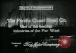Image of Pacific Coast Steel Company Seattle Washington USA, 1917, second 10 stock footage video 65675048843