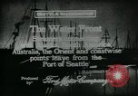 Image of Seattle Port Seattle Washington USA, 1917, second 4 stock footage video 65675048844