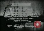 Image of Seattle Port Seattle Washington USA, 1917, second 5 stock footage video 65675048844