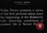 Image of Russian refugees Russia, 1923, second 7 stock footage video 65675048907