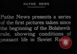 Image of Russian refugees Russia, 1923, second 10 stock footage video 65675048907