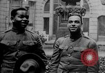 Image of American negro soldiers United States USA, 1919, second 2 stock footage video 65675048910