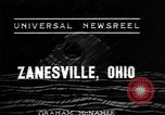 Image of flood Zanesville Ohio USA, 1937, second 3 stock footage video 65675048958