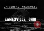 Image of flood Zanesville Ohio USA, 1937, second 5 stock footage video 65675048958