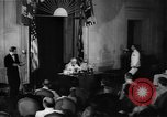 Image of Franklin D Roosevelt Washington DC USA, 1941, second 2 stock footage video 65675048966