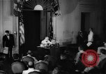 Image of Franklin D Roosevelt Washington DC USA, 1941, second 4 stock footage video 65675048966