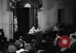 Image of Franklin D Roosevelt Washington DC USA, 1941, second 9 stock footage video 65675048966