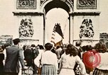 Image of Arc de Triomphe Paris France, 1945, second 1 stock footage video 65675048973