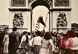 Image of Arc de Triomphe Paris France, 1945, second 2 stock footage video 65675048973