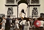 Image of Arc de Triomphe Paris France, 1945, second 3 stock footage video 65675048973