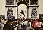 Image of Arc de Triomphe Paris France, 1945, second 4 stock footage video 65675048973