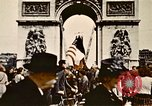 Image of Arc de Triomphe Paris France, 1945, second 5 stock footage video 65675048973