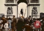 Image of Arc de Triomphe Paris France, 1945, second 9 stock footage video 65675048973