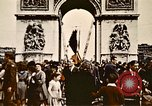 Image of Arc de Triomphe Paris France, 1945, second 10 stock footage video 65675048973