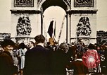 Image of Arc de Triomphe Paris France, 1945, second 11 stock footage video 65675048973