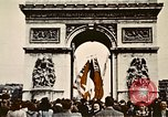 Image of Arc de Triomphe Paris France, 1945, second 12 stock footage video 65675048973