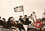 Image of British flag London England United Kingdom, 1945, second 1 stock footage video 65675048980