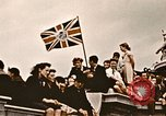 Image of British flag London England United Kingdom, 1945, second 2 stock footage video 65675048980