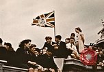 Image of British flag London England United Kingdom, 1945, second 3 stock footage video 65675048980