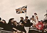 Image of British flag London England United Kingdom, 1945, second 4 stock footage video 65675048980