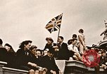 Image of British flag London England United Kingdom, 1945, second 5 stock footage video 65675048980