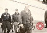 Image of American airmen United Kingdom, 1945, second 1 stock footage video 65675048984
