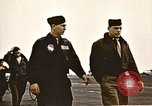 Image of American airmen United Kingdom, 1945, second 4 stock footage video 65675048984