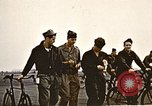 Image of American airmen United Kingdom, 1945, second 8 stock footage video 65675048984