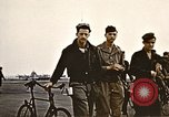 Image of American airmen United Kingdom, 1945, second 10 stock footage video 65675048984