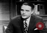 Image of Sargent Shriver Washington DC USA, 1963, second 9 stock footage video 65675048994