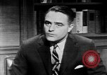 Image of Sargent Shriver Washington DC USA, 1963, second 10 stock footage video 65675048994