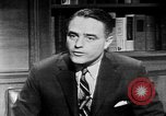 Image of Sargent Shriver Washington DC USA, 1963, second 11 stock footage video 65675048994