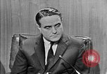 Image of Robert Sargent Shriver Washington DC USA, 1963, second 3 stock footage video 65675049002