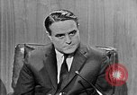 Image of Robert Sargent Shriver Washington DC USA, 1963, second 4 stock footage video 65675049002