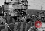 Image of Survivors of the USS Hornet Pacific Ocean, 1942, second 3 stock footage video 65675049023