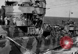 Image of Survivors of the USS Hornet Pacific Ocean, 1942, second 4 stock footage video 65675049023