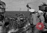 Image of Survivors of the USS Hornet Pacific Ocean, 1942, second 9 stock footage video 65675049023