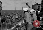 Image of Survivors of the USS Hornet Pacific Ocean, 1942, second 10 stock footage video 65675049023