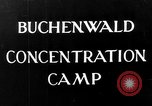 Image of Buchenwald concentration camp Weimar Germany, 1945, second 9 stock footage video 65675049036