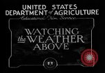 Image of weather forecasting United States USA, 1925, second 9 stock footage video 65675049043