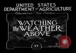 Image of weather forecasting United States USA, 1925, second 10 stock footage video 65675049043