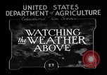 Image of weather forecasting United States USA, 1925, second 11 stock footage video 65675049043