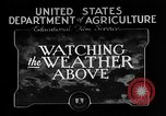 Image of weather forecasting United States USA, 1925, second 12 stock footage video 65675049043